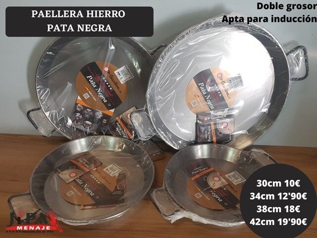 Paella Hierro Pata Negra