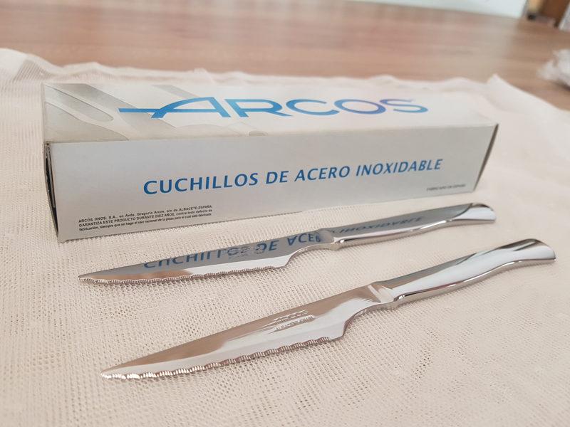 Cuchillo Arcos Chuletero Acero Inoxidable