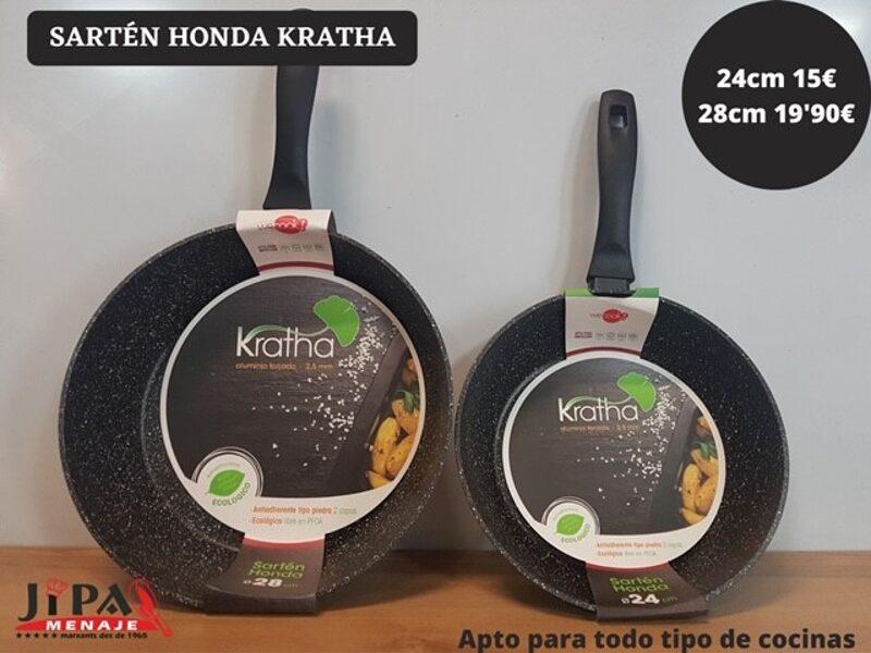 Sartén Honda Kratha de 24 cm. o 28 cm.