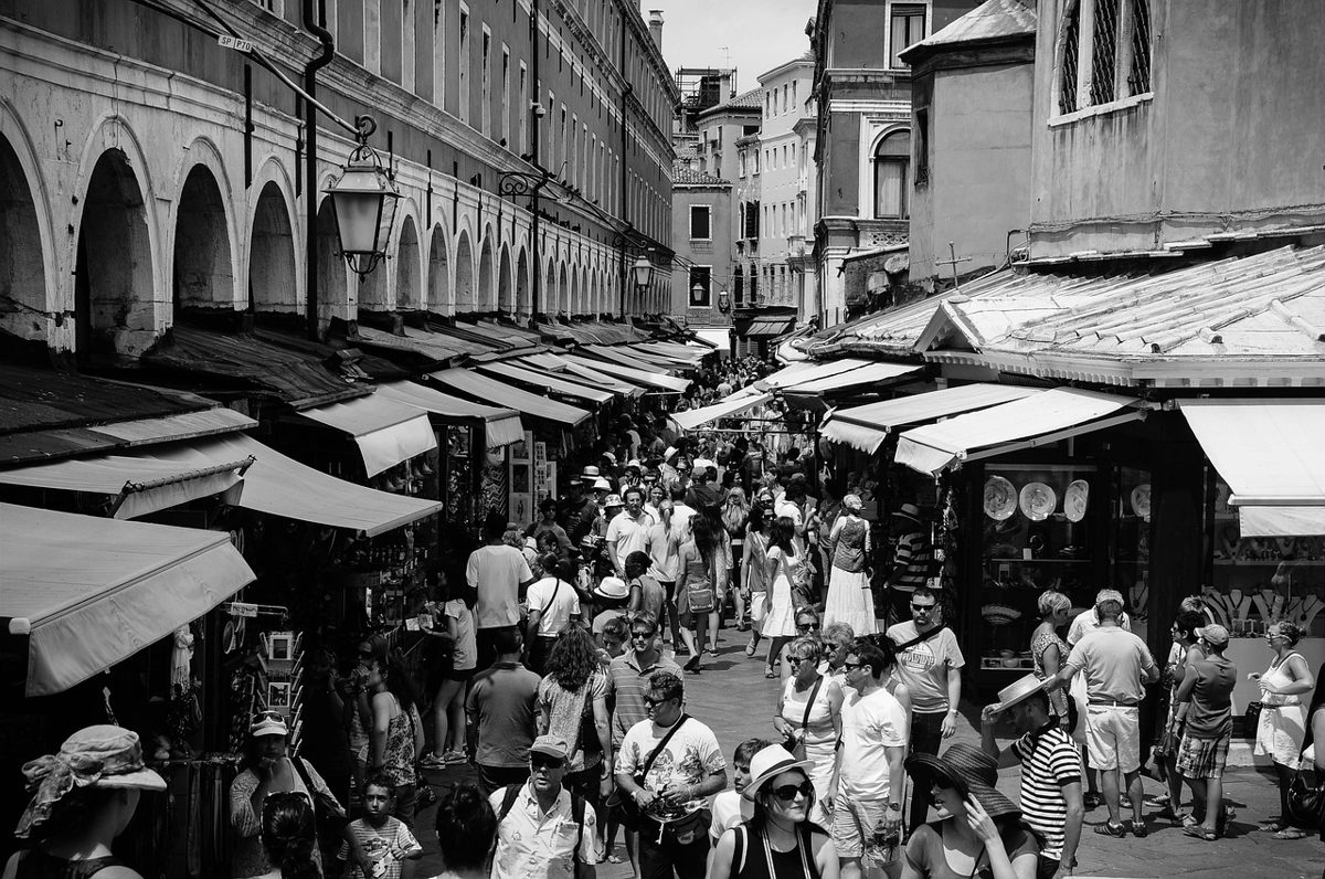 Mercadillos o mercados ambulantes